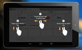 android gestures uc browser adds tab swipe gestures for android tablets