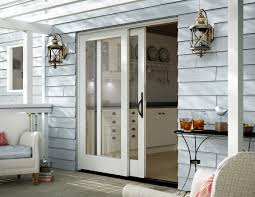 stacking glass wall doors wood aluminum milgard windows doors 6 essential tips for choosing new patio doors