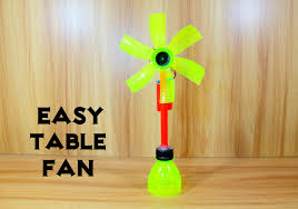 how to make a fan how to make an electric table fan using bottle easy
