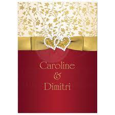40th anniversary invitations 40th wedding anniversary invitation ivory gold floral