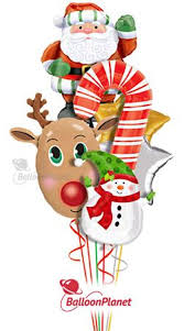 santa balloon delivery 7 best christmas balloon bouquet decor ideas images on
