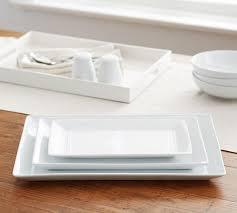ceramic serving platters great white rectangular serving platters pottery barn