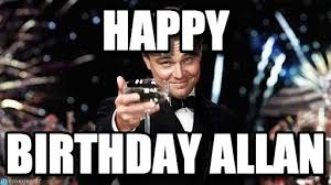 Allan Meme - happy congratulations meme on memegen