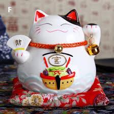 aliexpress buy ceramic lucky cat ornament japanese mini