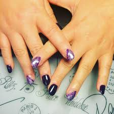 5 silver and purple nail designs 65 purple and silver nail art