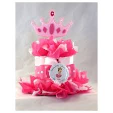 Diaper Cake Centerpieces by Baby Shower Princess Diaper Cake Centerpiece 2 Sizes