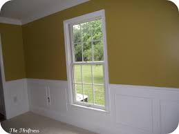 Wainscoting Around Windows Remodelaholic Simple Picture Frame Wainscoting Guest