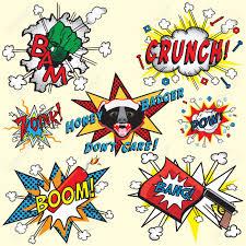 great selection of comic book icons with honey badger bang gun