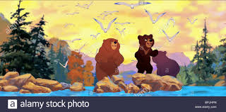 kenai u0026 koda brother bear 2003 stock photo royalty free image