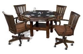 sunny designs convertible santa fe 4 leg poker u0026 dining table