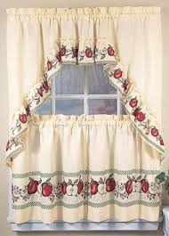 Kitchen Curtain Fabric by Country Kitchen Curtains Link Kitchen With Each Other Perfectly