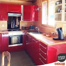 pour cuisine cuisine rustique moderne brillante et bois en l