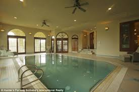 Luxury House Plans With Indoor Pool Stunning Italian Style Mansion With Two Pools A Basketball Court