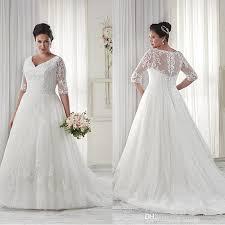 wedding dress discount lace sleeve wedding dress plus size wedding dresses 2018