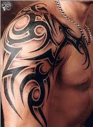 tattoo tribal no antebraço tatuagem de tribal no braço ombro e peito tatos pinterest