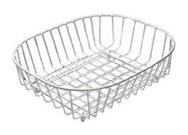 Kitchen Sink Basket Delfinware Oval Sink Basket White Co Uk Kitchen Home