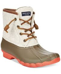 buy ugg boots macy s sperry s saltwater duck booties created for macy s boots