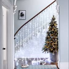 6ft frosted finley pre lit led christmas tree trees christmas