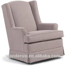 Gliding Chairs For Nursery Upholstered Swivel Glider Chair For Nursery And Ottoman Rocking
