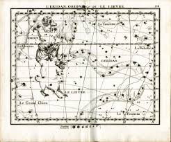 Vre Map Atlas Celeste De Flamsteed Orion Star Chart