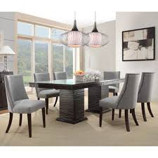 7 dining room sets homelegance chicago 7 pedestal dining room set