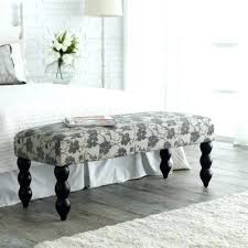 bedroom benches upholstered fabric bench for bedroom found it at lilac fields upholstered
