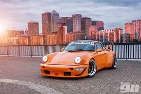 rwb porsche yellow sixteen stunning images of nakai san u0027s first british rwb build