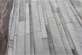 chevron hide rug white and gray stripes patchwork cowhide rug no 252 shine rugs