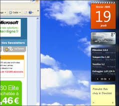 gadget bureau windows pc astuces utiliser les gadgets vista avec windows xp