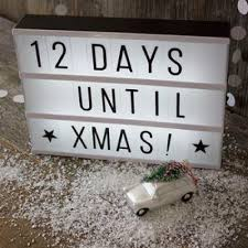 house number light box best gift for christmas confess valentines lightbox letter diy a4