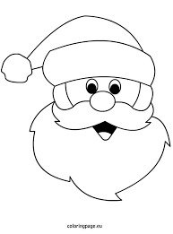 santa claus coloring pages u2013 christmas santa claus coloring pages