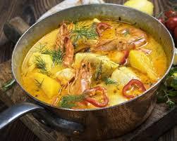recette cuisine br駸ilienne recette moqueca de peixe ragoût de poissons brésilien facile rapide