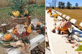 feasting alfresco outdoor thanksgiving tables 06