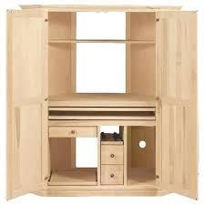 Black Computer Armoire Computer Armoire Corner Perfectgreenlawn