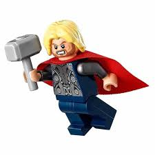 lego superheroes thor with hammer 2012 the brick people