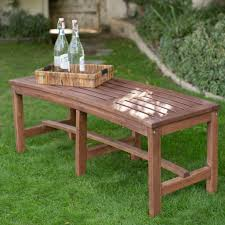 Designer Wooden Benches Outdoor by Outdoor Benches Patio Chairs The Home Depot Pictures With