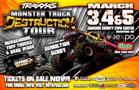 monster trucks upcoming events u2013 traxxas monster truck destruction tour at the