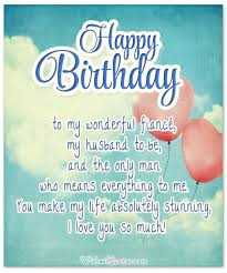 birthday cards loving birthday wishes for fiancé