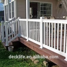 Decking Handrail Uv Resistant Deck Railing Pvc Handrail Vinyl Decking Rail Vrd200