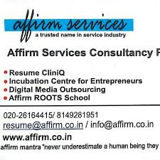 good resume for accounts manager job in chakan midc affirm jobs consulting agency facebook 3 photos