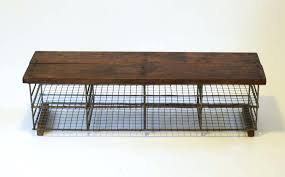 wall mounted storage cupboards custom made reclaimed wood bench