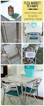 Remove Rust From Outdoor Furniture by Cool Flea Market Vintage Table Revamp With Tips On How To Remove