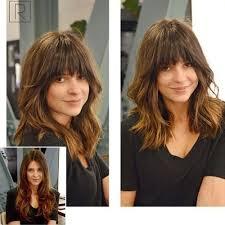 lob haircut with bangs best 25 lob bangs ideas on pinterest lob with bangs short hair