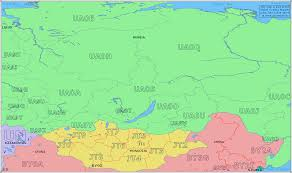 map central radio prefix map of central russia