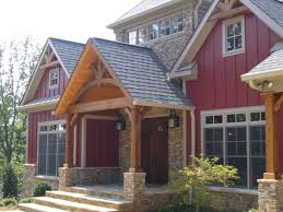 craftsman one story house plans new construction craftsman style in mountain gated community home