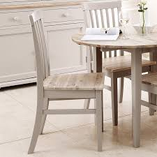 florence high back chair dining chair with wooden seat in truffle
