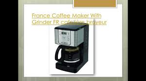 Coffee Maker With Grinder And Thermal Carafe Best Coffee Maker With Grinder Top Coffeemaker For Office Youtube