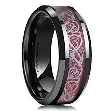 mens celtic wedding rings 8mm unisex or men s tungsten wedding band mens celtic wedding