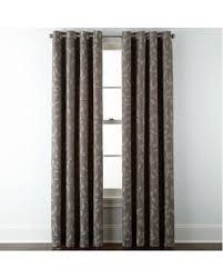 Jcpenney Home Collection Curtains Savings On Jcpenney Home Quinn Leaf Grommet Top Curtain Panel