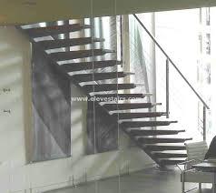 special straight stairs eleve kit modular wood steel metal